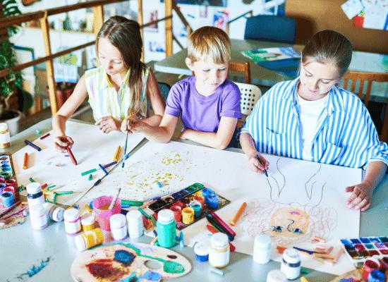 טיפול באומנות לילדים עם בעיות קשב וריכוז