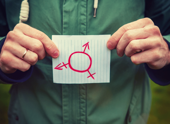 דו מיני, סמל דו מיניות